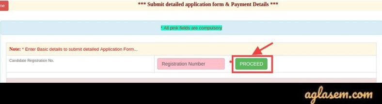 UPPSC AE Application Form 2020 Final Submission