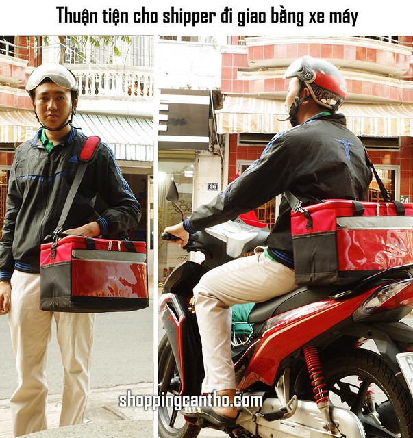 Túi giao hàng túi giữ nhiệt cho Shipper Cần Thơ