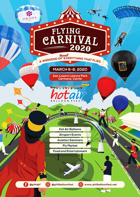 SEE THE FLYING CARNIVAL 2020 IN CARMONA, CAVITE