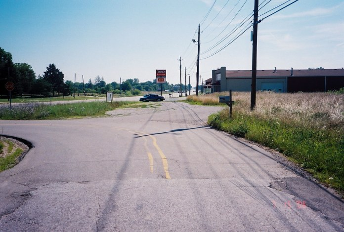 Old National Road east of Plainfield