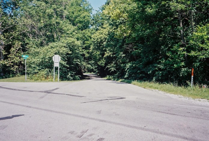 Old US 40 alignment