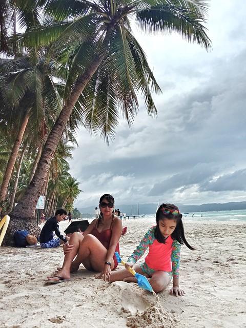 Boracay with Lucia