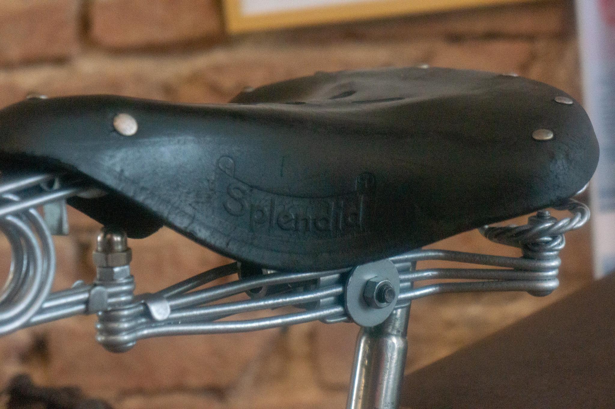 Велосипедное седло Splendid (Польша)