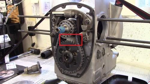 Remove Masking Tape Before Installing Inner Timing Cover