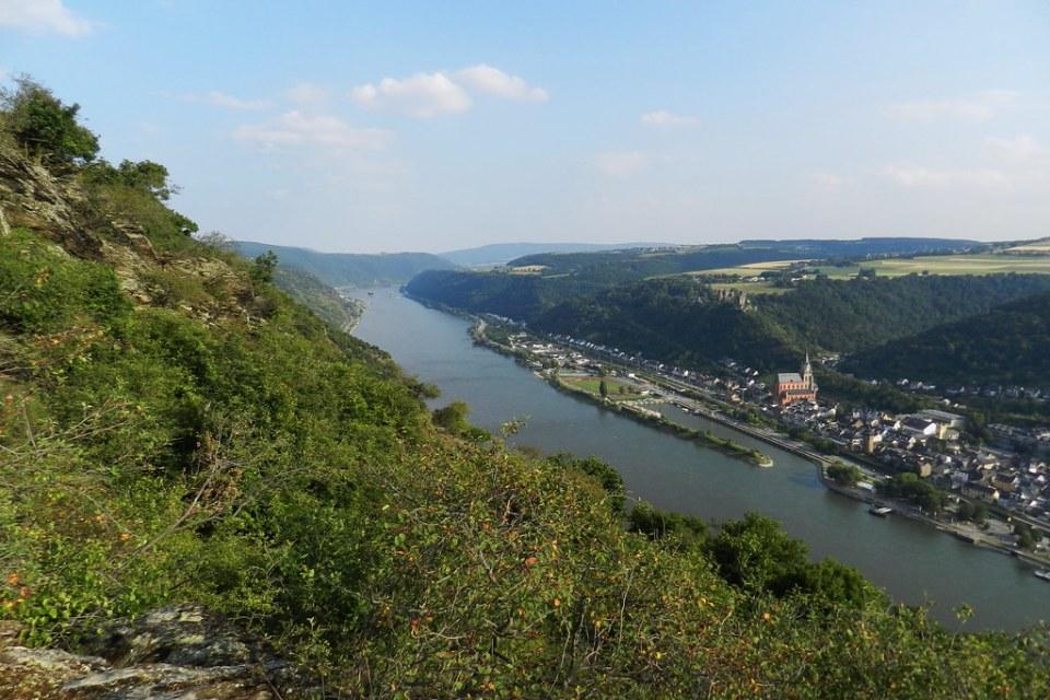 vista de Oberwesel Valle del Rin Alemania 05