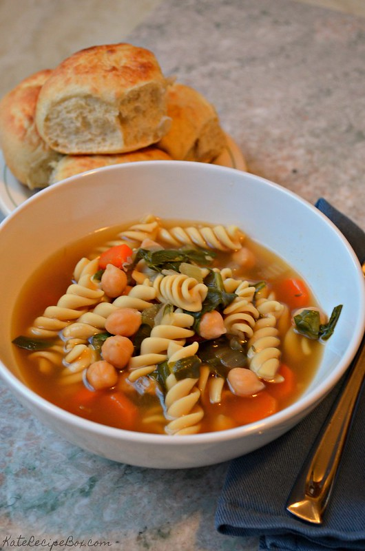 Chickpea Noodle Soup 3