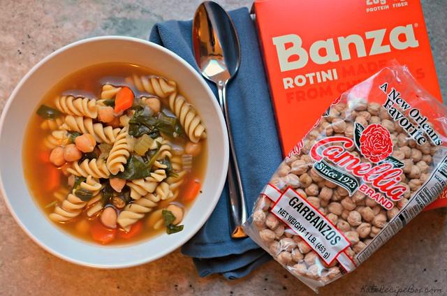 Chickpea Noodle Soup 1