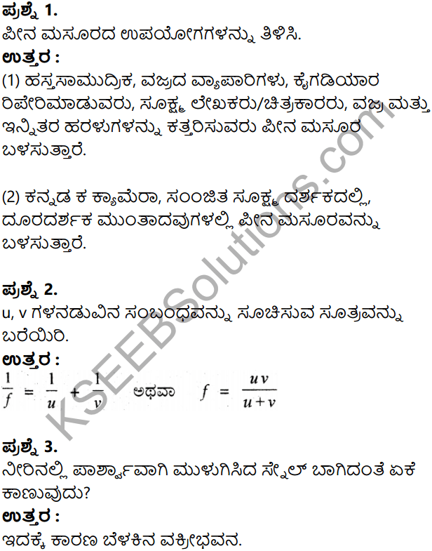 KSEEB Solutions for Class 8 Science Chapter 17 Namma Varnamaya Jagattu in Kannada 12