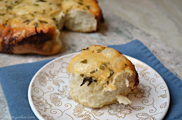 Cheesy Herb Dinner Rolls 3