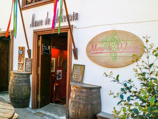 Fachada del Museo de Malvasia en Icod de los Vinos