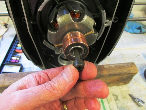 Installing Rotor Bolt In Two Sets Of Threads