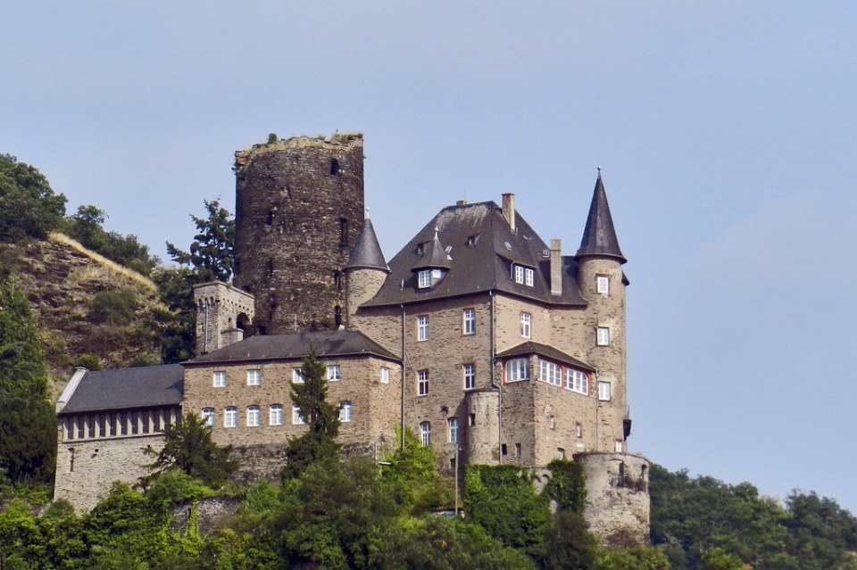 Castillo Katz Burg Katz St. Goarshausen Valle del Rin Alemania 02