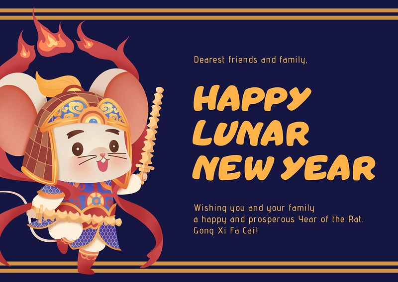 CNY Rat Card