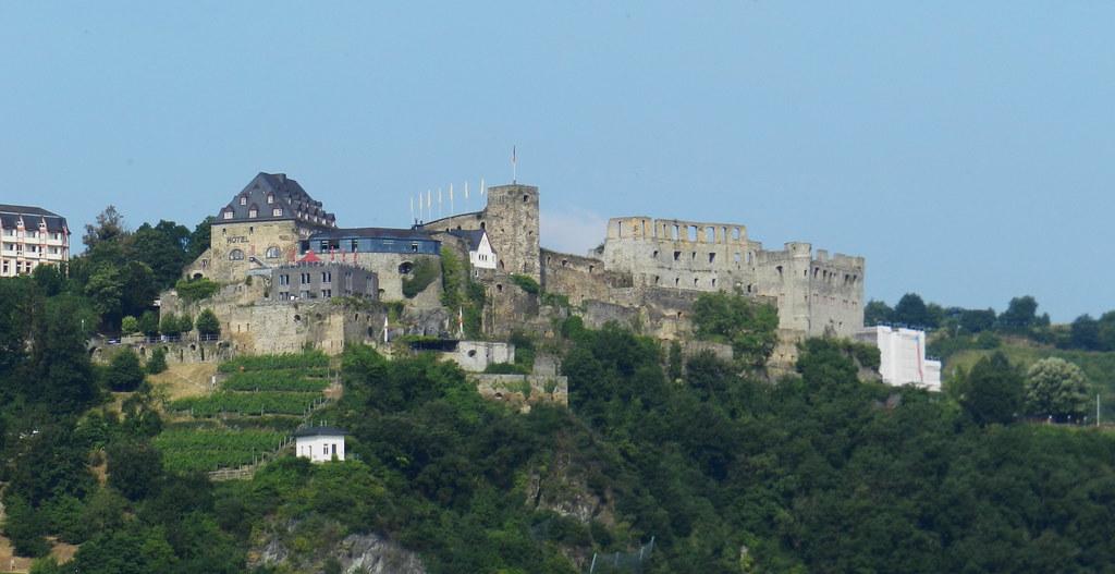 Castillo Rheinfels Burg y vista St Goar Valle del Rin Alemania 02