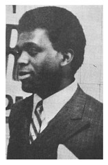 Reginald Booker at an ECTC meeting: 1969 ca.