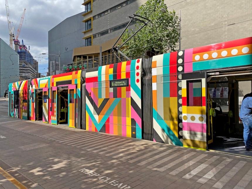 TRAM, SWANSTON STREET, MELBOURNE :copyright: