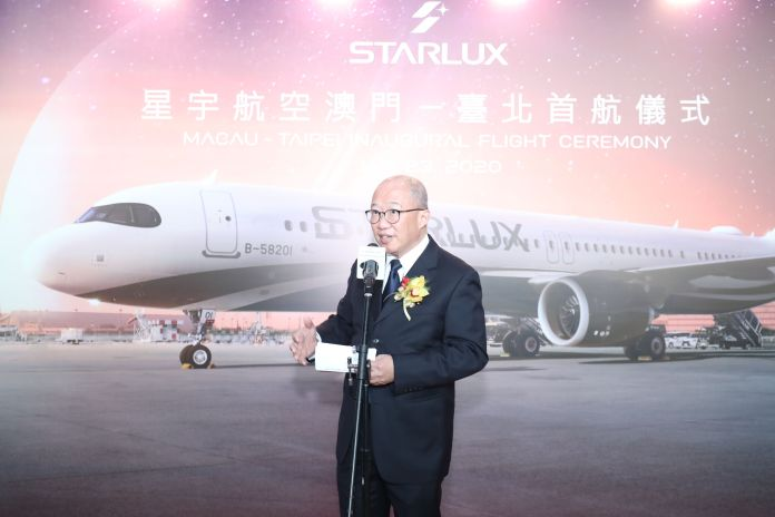 董事長特助周寶裕Mr. Cho Po-Yue, Special Assistant to the Chairman of STARLUX Airlines