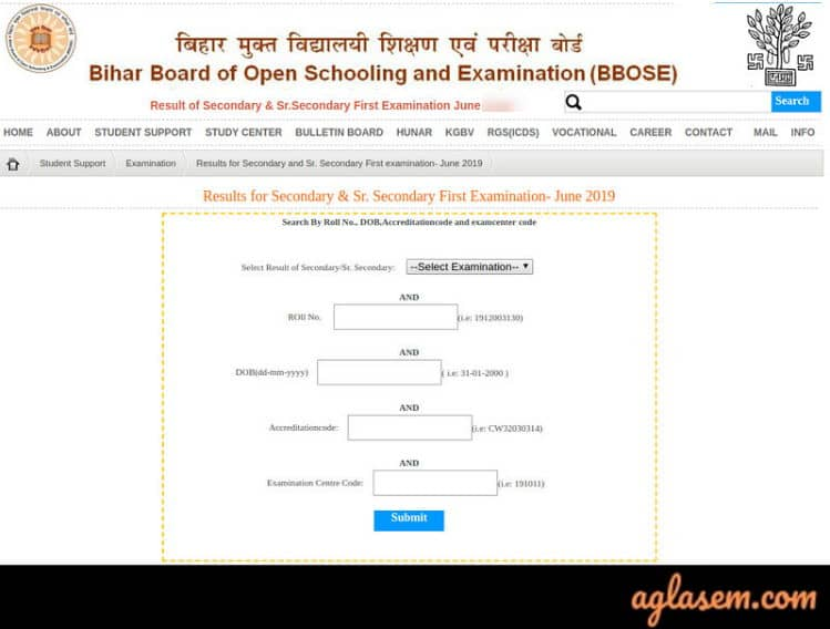 BBOSE 10th Result June 2020