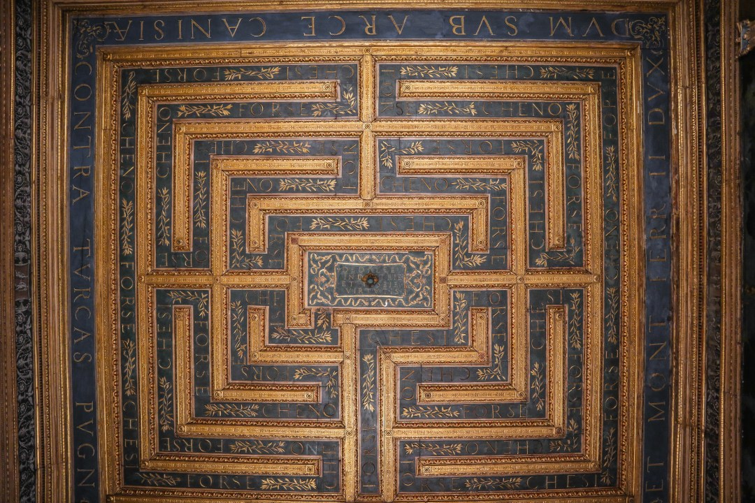 Sala del Labirinto, Palazzo Ducale, Mantova