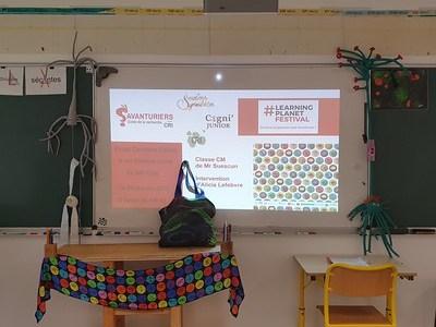 Ecole Primaire - Projet Savanturiers - Jura 2020