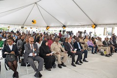 Attendees at the commissioning ceremony