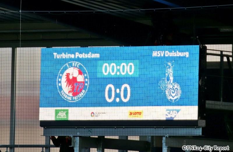 1.FFC Turbine Potsdam gegen MSV Duisburg 2019/20