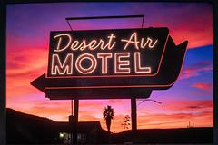 Desert Air Motel - Fuji GW690 - Fuji Velvia 50