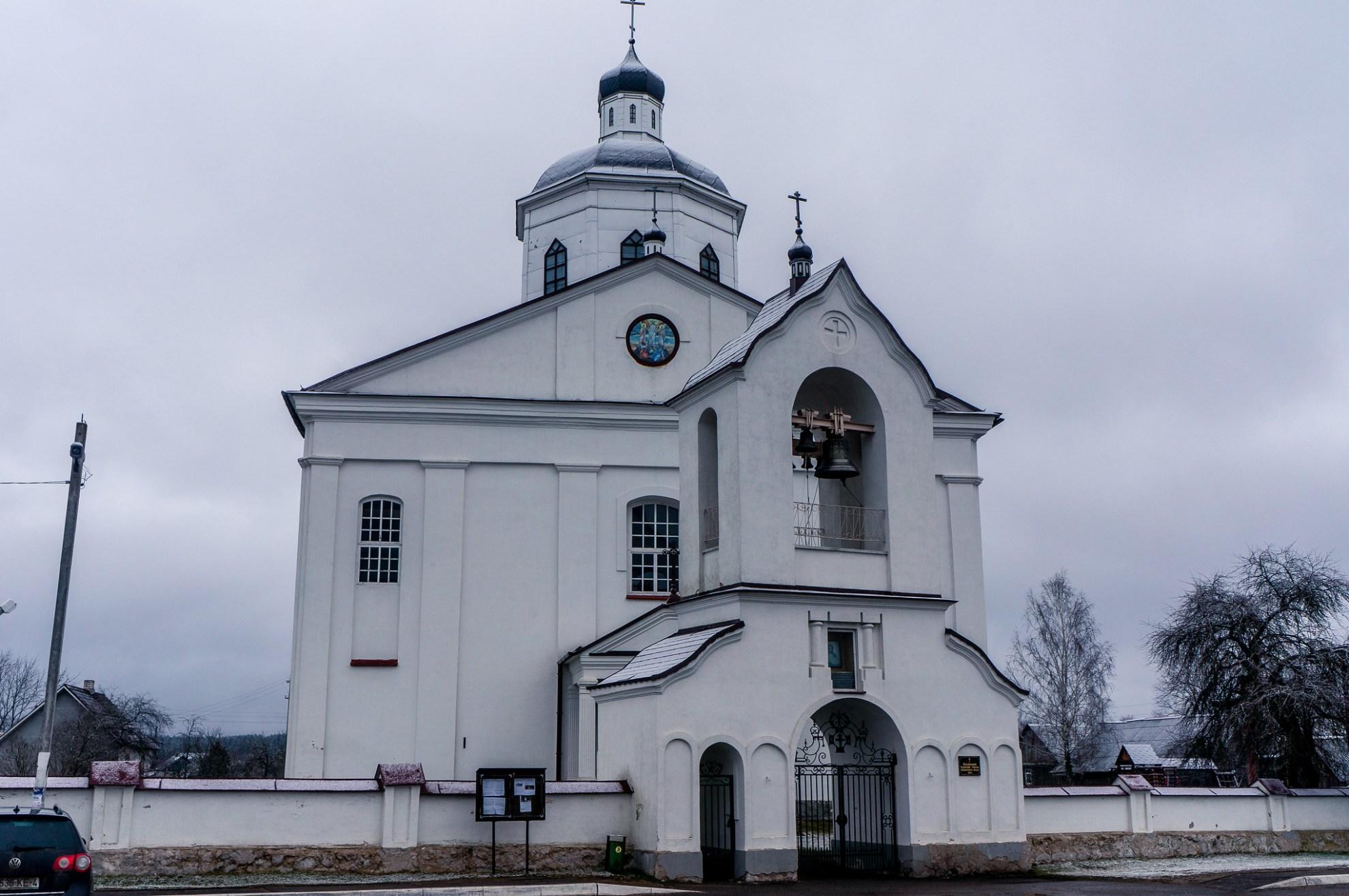 Церковь Преображения Господня. Раков