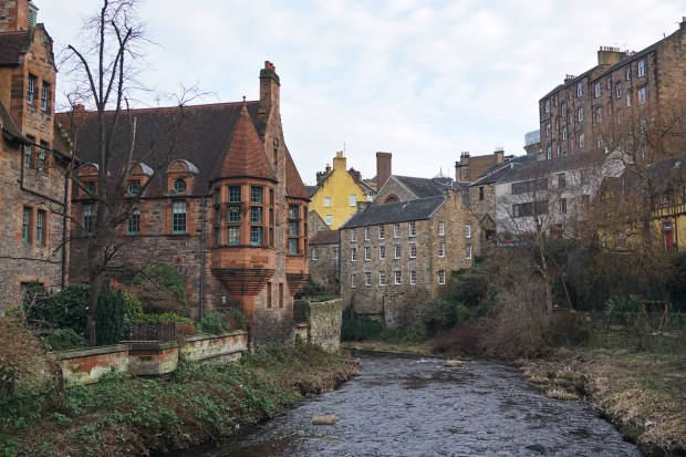 Dean Village and Water of Leith - Edinburgh