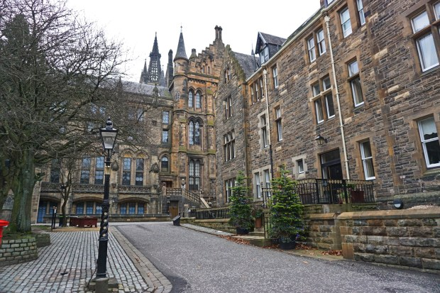 The University of Glasgow campus