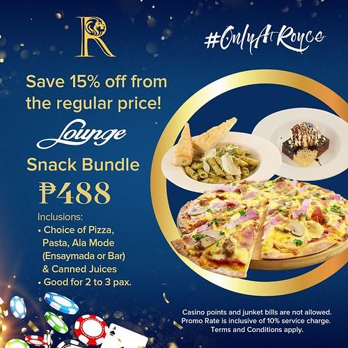 Royce Hotel and Casino Snack Bundle
