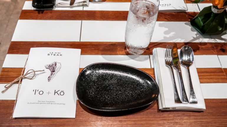 'I'o + Kō Rum Pairings Dinner at La Hiki Steak - Four Seasons Ko Olina, Ko Hana Rum, Ko Hana Distillers, Four Seasons Oahu, FSOAHU | Wanderlustyle.com