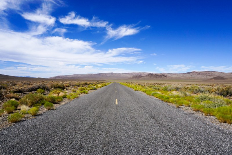 Emigrant Canyon Road, Death Valley National Park, California, July 2019