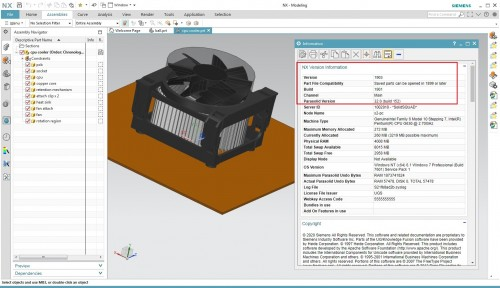 Design with Siemens NX 1903 (NX 1899 Series) full crack