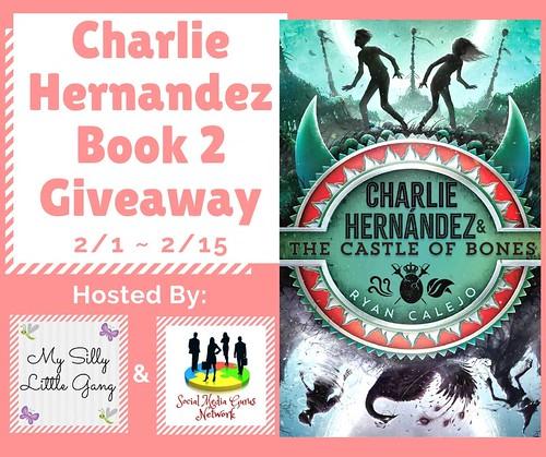 Charlie Hernandez Book 2 Giveaway