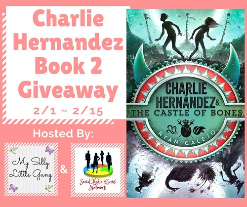 Charlie Hernandez Book 2 Giveaway ~ Ends 2/15 @SMGurusNetwork #MySillyLittleGang