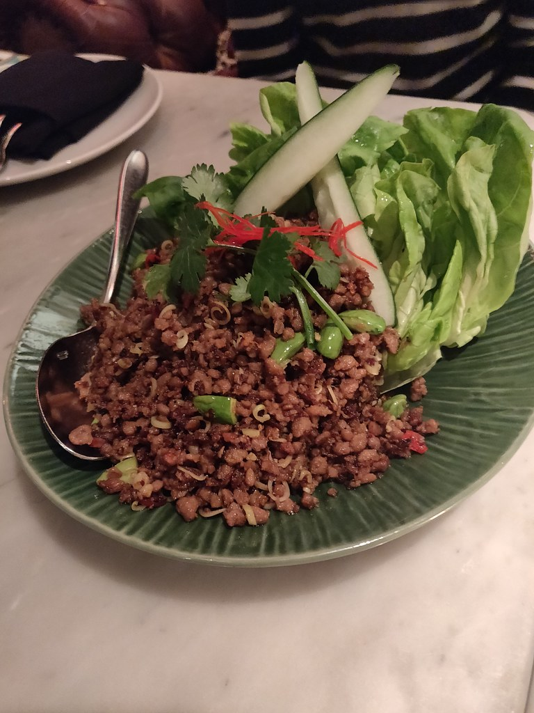 Impossible Meat Lettuce Cups Mama San