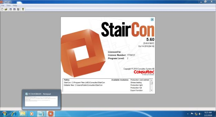 Working with StairCon 5.6 full crack