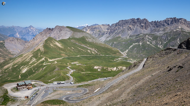 View from Col du Galibier