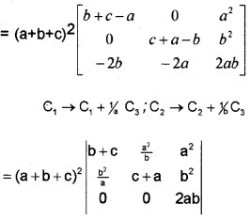 Plus Two Maths Determinants 4 Mark Questions and Answers 14