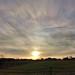 Eftermiddagshimmel före solnedgång, Hulla, Österåker, Vingåker, 2020-02-03
