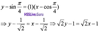 Plus Two Maths Application of Derivatives 3 Mark Questions and Answers 3
