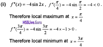 Plus Two Maths Application of Derivatives 6 Mark Questions and Answers 83