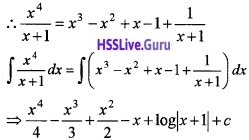 Plus Two Maths Integrals 6 Mark Questions and Answers 78