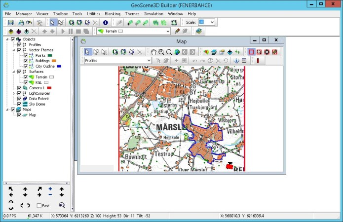 Working with I-GIS GeoScene3D v10 full license