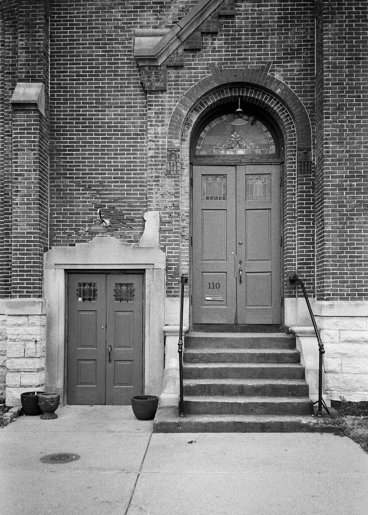 Contrasting Doors