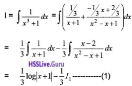 Plus Two Maths Integrals 6 Mark Questions and Answers 73