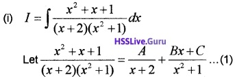 Plus Two Maths Integrals 4 Mark Questions and Answers 28