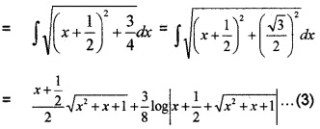 Plus Two Maths Integrals 6 Mark Questions and Answers 62