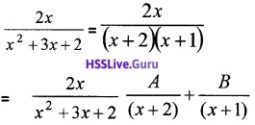 Plus Two Maths Integrals 4 Mark Questions and Answers 38